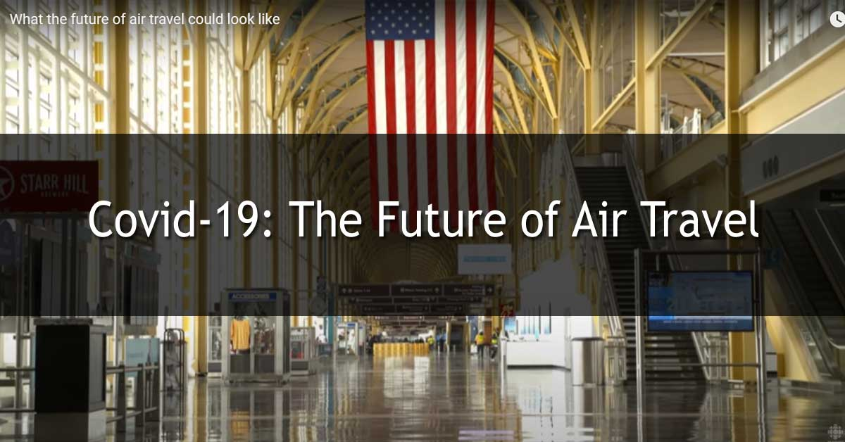 Covid-19: The Future of Air Travel (B1-B2/v1145)